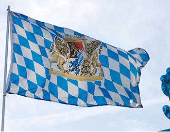Bayernfahnen rauten