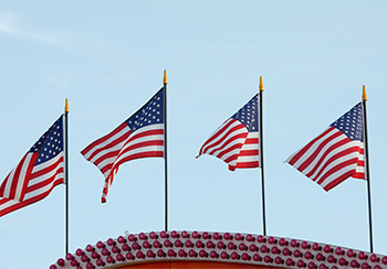 Nationalfahnen-USA