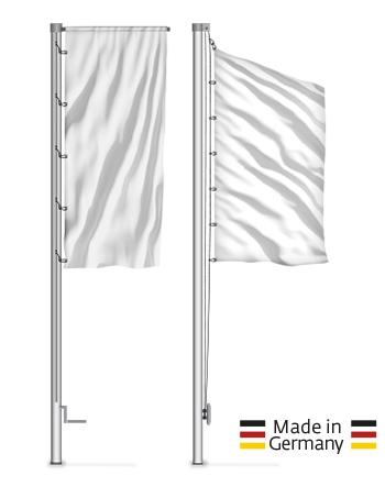6 m - 8 m Alu-Masten Durchmesser 90 mm