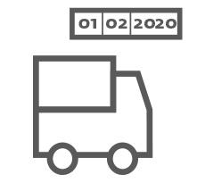 Versand UPS Wunschtermin