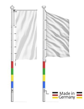 Farbige GFK-Masten