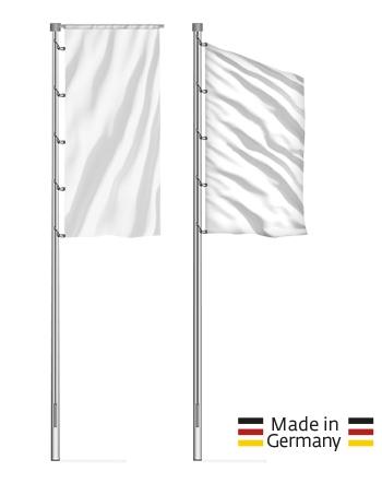 7 m - 12 m konische Alu-Masten