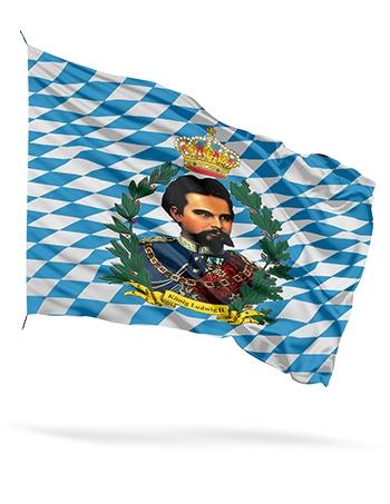 Bayernfahnen in allen Varianten