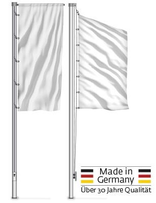 Fahnenmasten 3 m bis 8 m